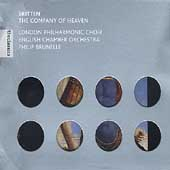 Britten: The Company of Heaven, etc / Brunelle, et al