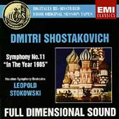 Shostakovich: Symphony no 11 / Stokowski, Houston SO