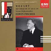 Mozart: Piano Concertos K 503 & K 482 / Edwin Fischer