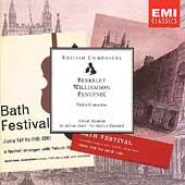 Berkeley/Williamson/Panufnik : Violin Concertos