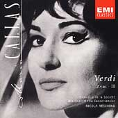 Callas Edition - Verdi Arias Vol 2 / Rescigno