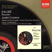 Faure:Requiem (1962) / Andre Cluytens(cond), Orchestre de la Societe des Concerts du Conservatoire, Victoria de los Angeles(S), Dietrich Fischer-Dieskau(Br), etc
