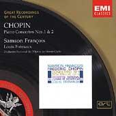 Chopin: Piano Concertos no 1 & 2 / Francois, Fremaux, et al