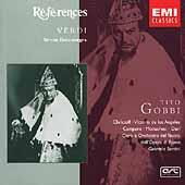 Verdi: Simon Boccanegra / Santini, Gobbi, de los Angeles