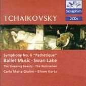 Tchaikovsky: Symphony No 6, Ballet Music / Kurtz, Giulini