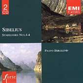 SIBELIUS:SYMPHONY NO.1-4:PAAVO BERGLUND(cond)/HELSINKI PO