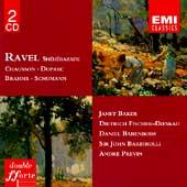 Ravel: Sheherazade;  Chausson, Duparc, et al / Baker, et al