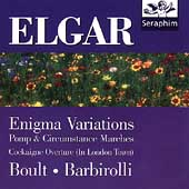 Elgar: Enigma Variations, etc / Boult, Barbirolli