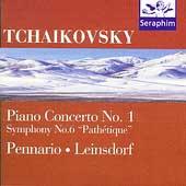 Tchaikovsky: Concerto 1, Symphony 6 / Pennario, Steinberg