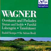 Wagner: Overtures and Preludes / Rudolf Kempe, Adrian Boult