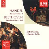 Handel: Keyboard Suites Vol 2;  Beethoven /Richter, Gavrilov