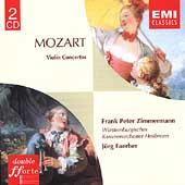 Double fforte - Mozart: Violin Concertos /Zimmermann, Faerber