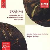 Brahms: Symphonies no 1-3, etc / Jochum, London SO