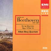 Beethoven: Quartets Op 127 & 135 / Alban Berg Quartett
