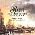 Bach: English Suites, no 4,5,6 / Jaccottet