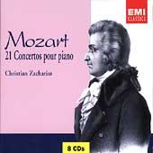 Mozart: 21 Concertos for Piano / Zacharias