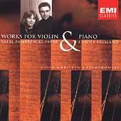 Debut - Works for Violin & Piano /Zambrzycki-Payne, Presland