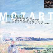 "Mozart: Symphonies no 40 & 41 ""Jupiter"" / Neville Marriner(cond), Academy of St. Martin in the Fields"