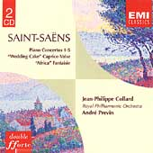 Saint-Saens: Piano Concertos no 1-5, etc / Collard, Previn