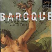 Baroque Trumpet Concertos / Andre, Marriner, et al