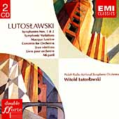 Lutoslawski: Symphonies, Concerto, Variations, etc