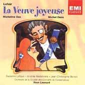 Lehar: La Yeuve Joyeuse / Leenart, Dax, Dens, et al