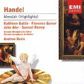 Handel: Messiah  / Davis, Battle, Quivar, et al