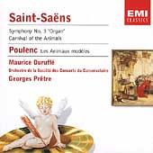 Saint-Saens, Poulenc / Pretre, Durufle,  Ciccolini, et al