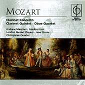 Mozart: Clarinet Concerto, Clarinet Quintet, etc / Glover