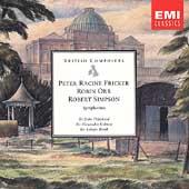 British Composers - Fricker, Simpson, Orr: Symphonies