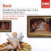 Bach: Brandenburg Concertos no 5 & 6, etc / Marriner, ASMF