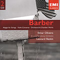 BARBER:ORCHESTRAL WORKS:ADAGIO FOR STRINGS/ETC:L.SLATKIN(cond)/ST LOUIS SO/ETC