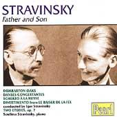 Stravinsky - Father and Son / Igor and Soulima Stravinsky