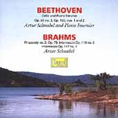 Beethoven: Cello Sonatas;  Brahms / Fournier, Schnabel