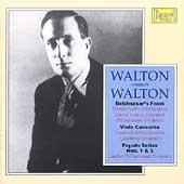 Walton Conducts Walton - Facade Suites, Viola Concerto, etc
