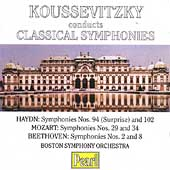 Koussevitzky conducts Classical Symphonies - Haydn, et al