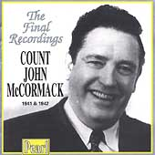 The Final Recordings 1941-42 / John McCormack