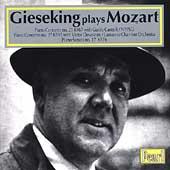 Gieseking Plays Mozart - Piano Concertos 21 & 27, Sonata 17