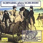 Schnabel plays Schubert Vol 2