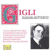Gigli - Madama Butterfly / de Fabritiis, dal Monte, et al