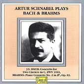 Artur Schnabel Plays Bach & Brahms