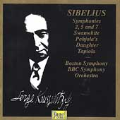 Sibelius: Symphonies nos 2, 5, 7, Pohjola's Daughter, etc