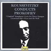 Koussevitzky Conducts Prokofiev