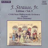 J. Strauss Jr. Edition Vol 5 / Oliver Dohnanyi, et al