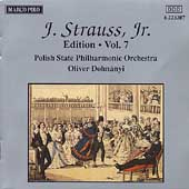 J. Strauss Jr. Edition Vol 7 / Oliver Dohnanyi, et al