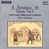 J. Strauss Jr. Edition Vol 8 / Oliver Dohnanyi, et al