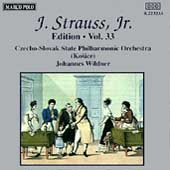 J. Strauss Jr. Edition Vol 33 / Johannes Wildner, et al