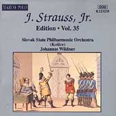 J. Strauss Jr. Edition Vol 35 / Johannes Wildner, et al