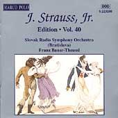 J. Strauss Jr. Edition Vol 40 / Franz Bauer-Theussl, et al
