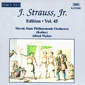 J. Strauss Jr. Edition Vol 45 / Alfred Walter, et al